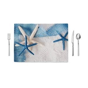 Mata kuchenna Home de Bleu Tropical Starfishs, 35x49cm
