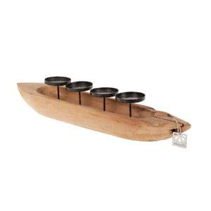 Świecznik Teak Boat