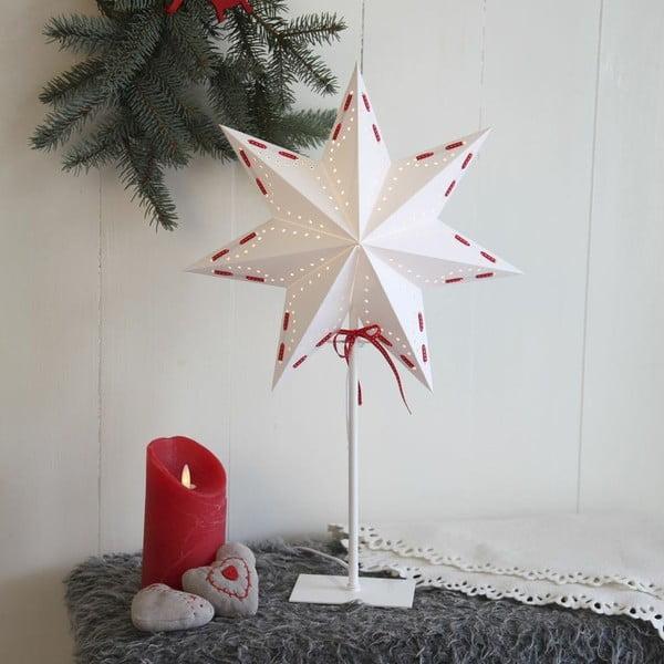 Świecąca gwiazda ze stojakiem Karo, 70 cm