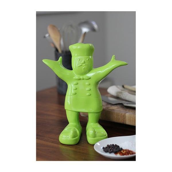 Stojak na książkę kucharską Claude, zielony