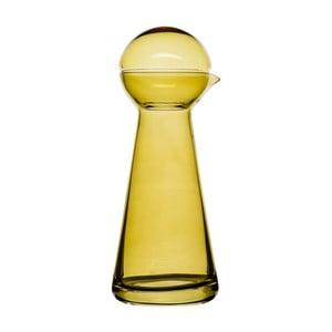 Karafka do wina Birdie, bursztynowa, 0,5 l