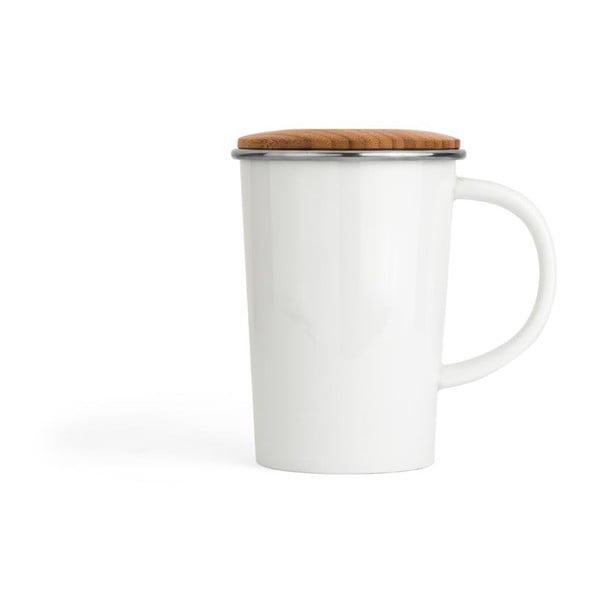 Kubek na herbatę z sitkiem i wieczkiem Bredemeijer Bamboo, 400 ml