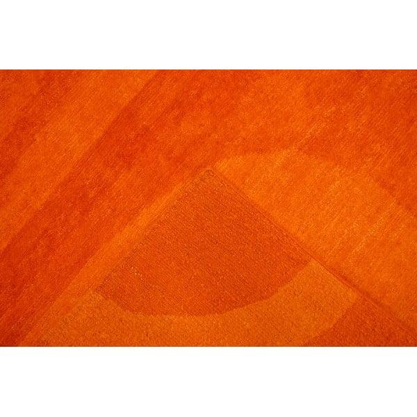 Dywan wełniany Palpa Orange, 90x160 cm