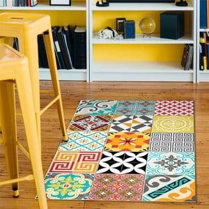 Wytrzymały dywan winylowy Bright Tile, 60x100 cm