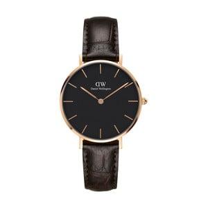 Zegarek damski z detalami w różowozłotej barwie Daniel Wellington Petite York, ⌀32mm