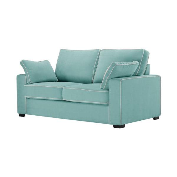 Sofa dwuosobowa Jalouse Maison Serena, miętowa