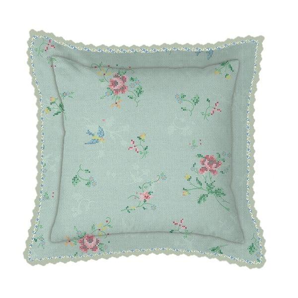 Poduszka Granny Pip Green, 45x45 cm