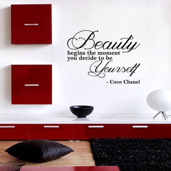 Naklejka Beauty