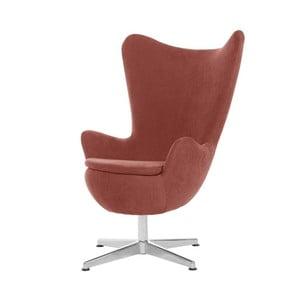 Brzoskwiniowy fotel obrotowy My Pop Design Vostell