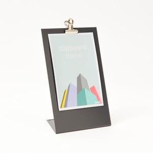 Szara ramka na zdjęcia Clipboard Medium