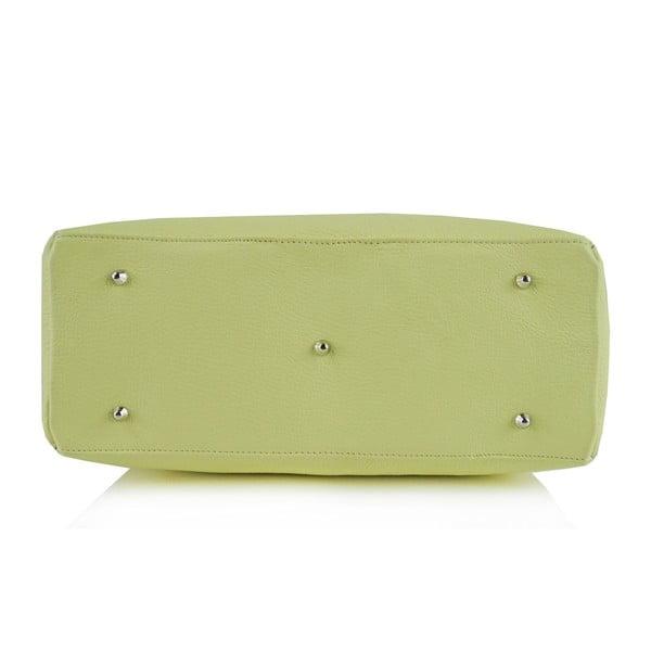 Skórzana torebka Boscollo Green 3365