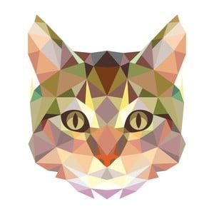 Naklejka Fanastick Ambiance Origami Cat
