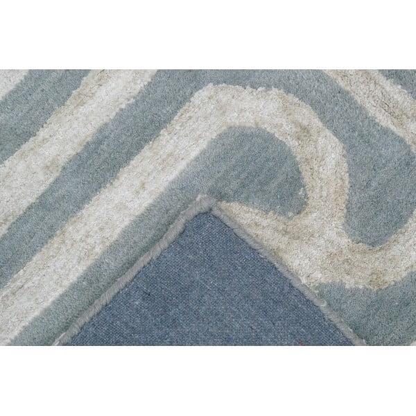 Dywan Twist Blue Beige, 153x244 cm