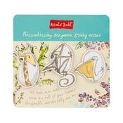 Komplet notesików z 3 magnesami Roald Dahl by Portico Designs
