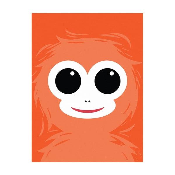 Plakat Małpa, A4
