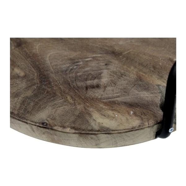 Taca z drewna tekowego z uchwytami HSM collection