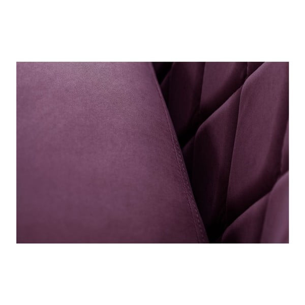 Sofa trzyosobowa Diva Criss Cross Purple