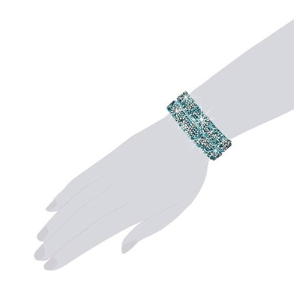 Bransoletka Aqua Shine, 42 cm