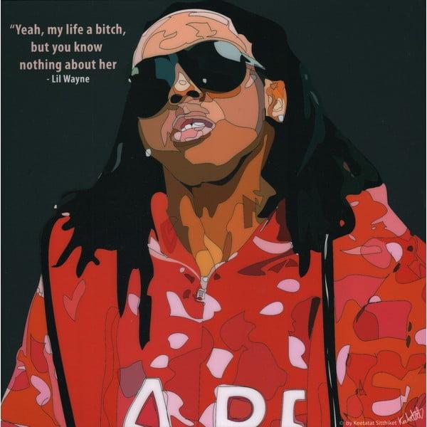 "Obraz ""Lil Wayne"""