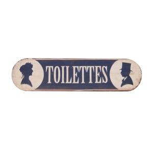 Tabliczka na drzwi Antic Line Toilettes Fer