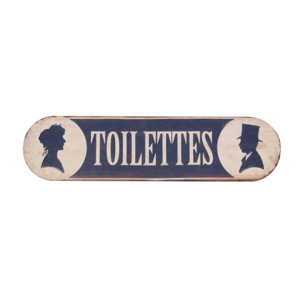 Tabliczka na drzwi Toilettes Fer