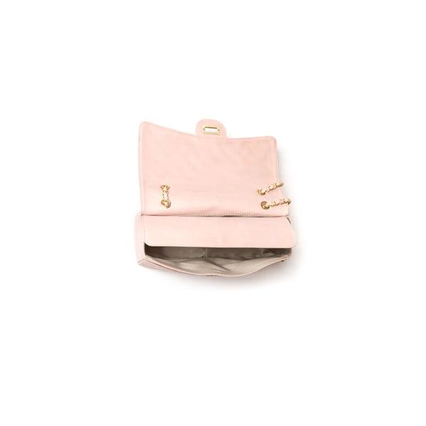 Skórzana torebka Carla Ferreri 2063 Rosa