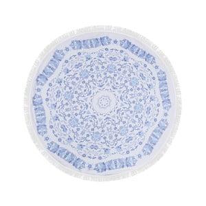 Kolorowy ręcznik kąpielowy z bawełny India, ⌀ 150 cm