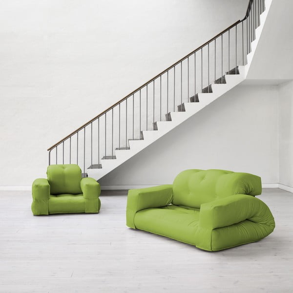 Sofa rozkładana Karup Hippo Lime