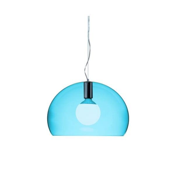 Mała niebieska lampa wisząca Kartell Fly