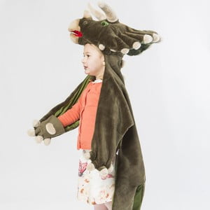 Kostium i dywanik w jednym Dinosaurz