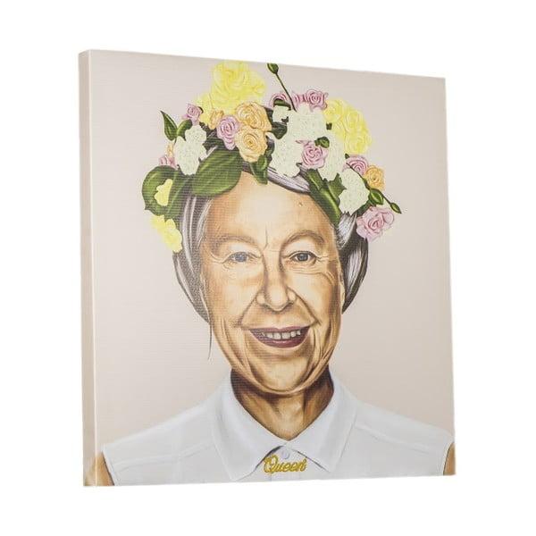 Obraz Queen Elizabeth, 80x80 cm