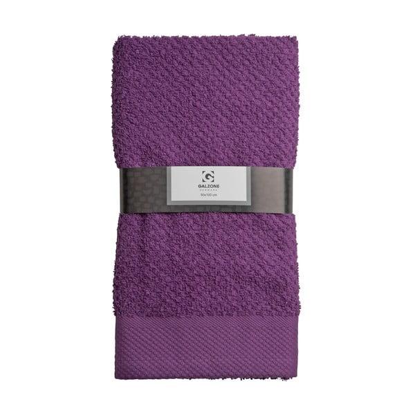 Ręcznik Galzone 100x50 cm, fioletowy