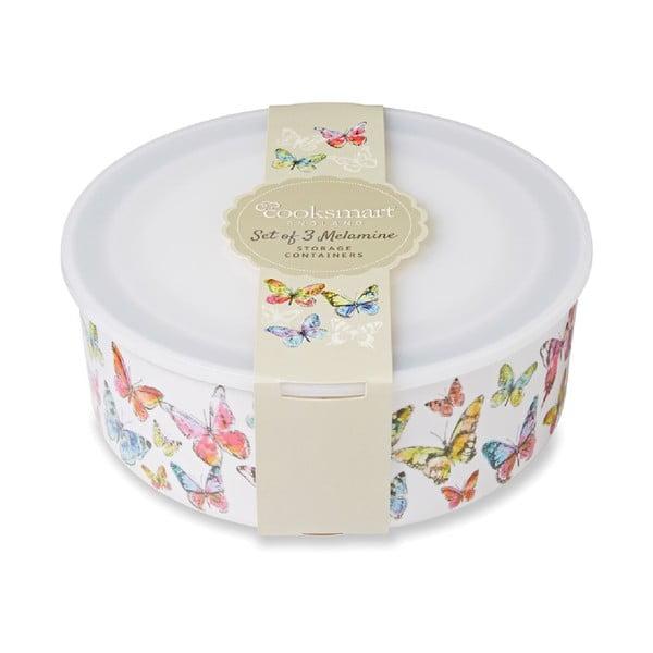 Zestaw 3 pudełek Cooksmart Butterfly
