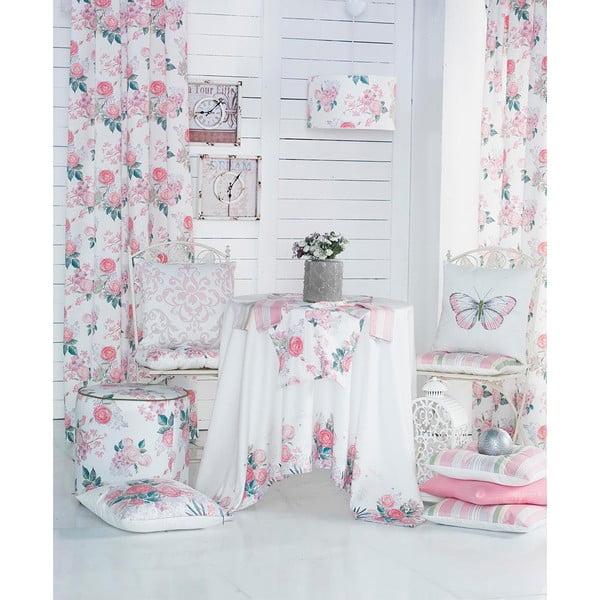 Poszewka na poduszkę Denise 40x40 cm, różowa