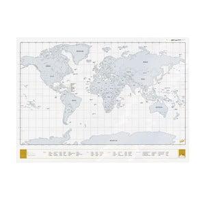 Mapa-zdrapka Clear Scratch