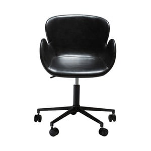Czarne krzesło biurowe DAN-FORM Denmark Gaia