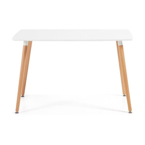 Stół do jadalni z drewna bukowego La Forma Daw, 75x120cm