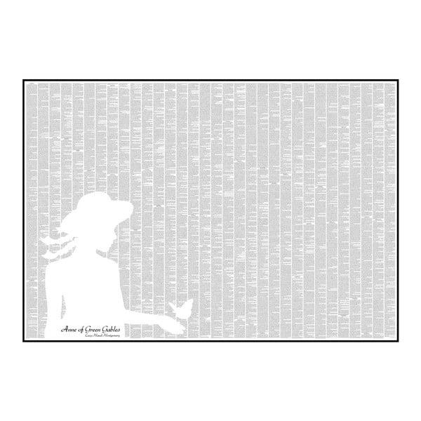 """Plakat """"Ania z Zielonego Wzgórza"""", 100x70 cm"""