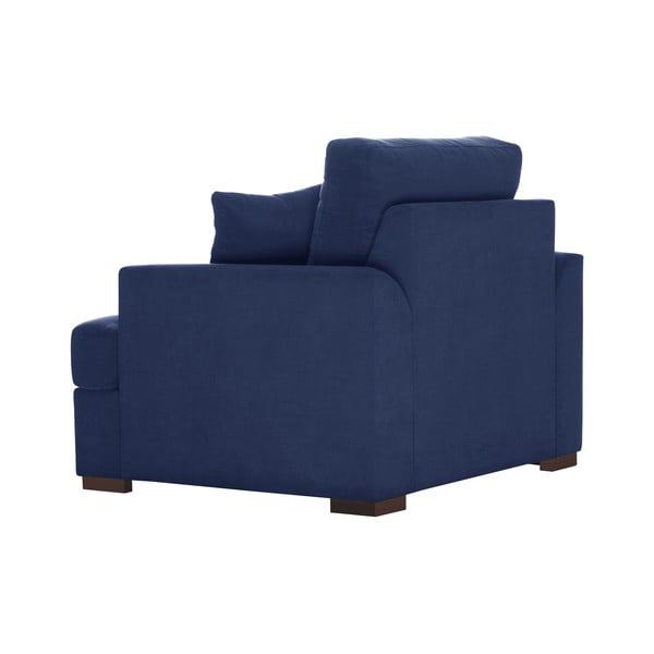 Granatowy fotel Jalouse Maison Irina