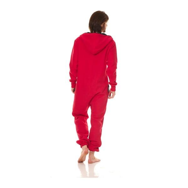 Czerwony kombinezon domowy Streetfly, XL