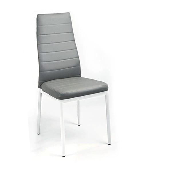 Krzesło Queen, szare/białe nogi