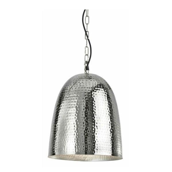 Lampa wisząca Shiny Bell, srebrna