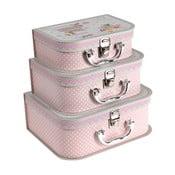 Zestaw 3 kuferków Cake Design
