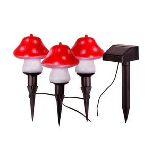 Lampiony Solar Energy Mushrooms Sticks, 3 ks