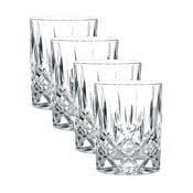 Komplet 4 szklanek do whisky ze szkła kryształowego Nachtmann Noblesse, 295 ml