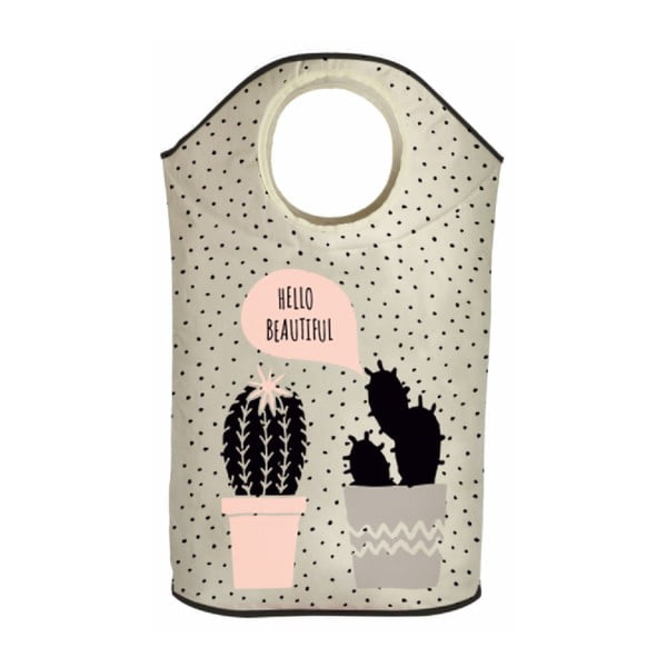 Kosz na bieliznę Cactus Love