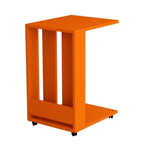 Stolik Edi, pomarańczowy