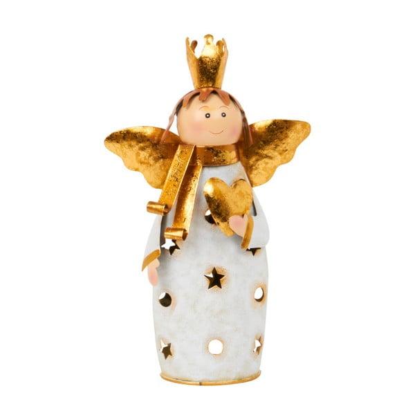 Świecznik Archipelago Cream Angel, 28 cm
