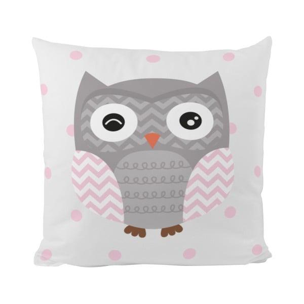 Poduszka   Striped Owl, 50x50 cm