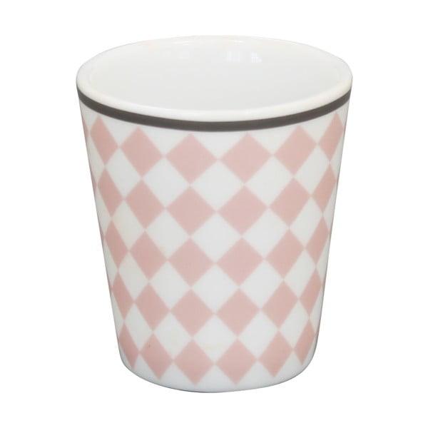 Miska na jajko Krasilnikoff Pink Harlekin